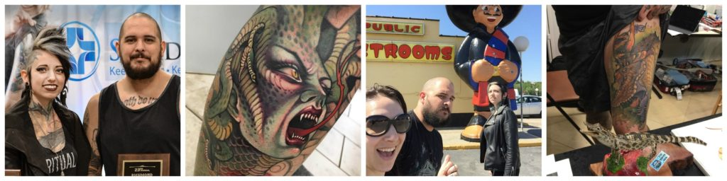 tattoo shop manager