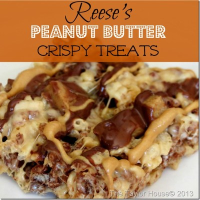 reeses pb treats thumb Reese's Peanut Butter Crispy Treats