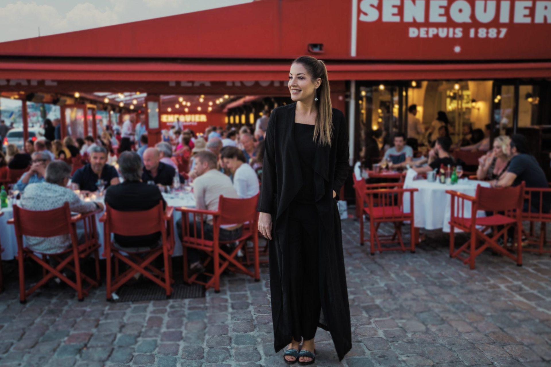 Senequier for restaurants dining St Tropez