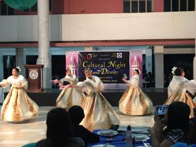 Dance Presentation of selected CEU students