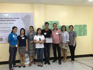 NCR Advocacy Forum on IE