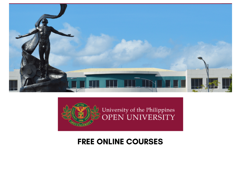 Free Online Courses from UP Open University