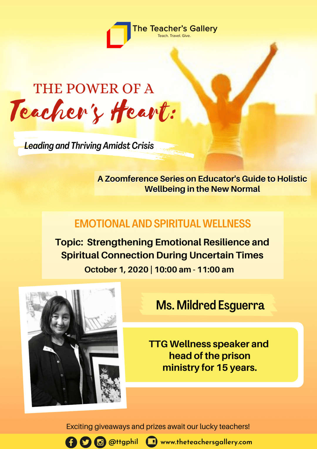 Emotional & Spiritual Wellness Poster