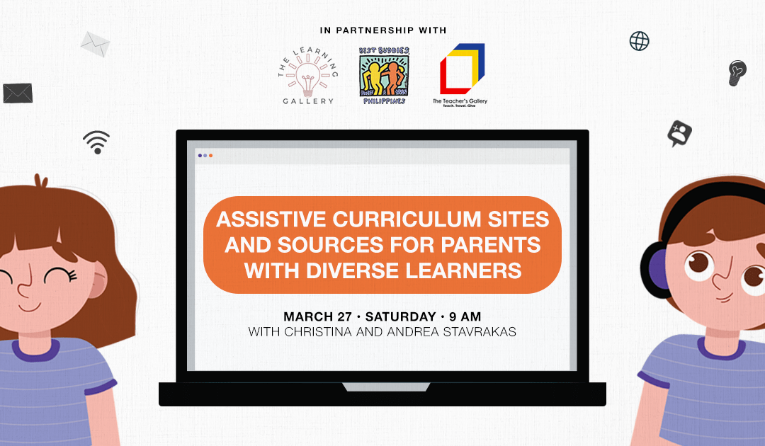 FREE Webinar: Assistive Curriculum Sites and Sources for Parents with Diverse Learners
