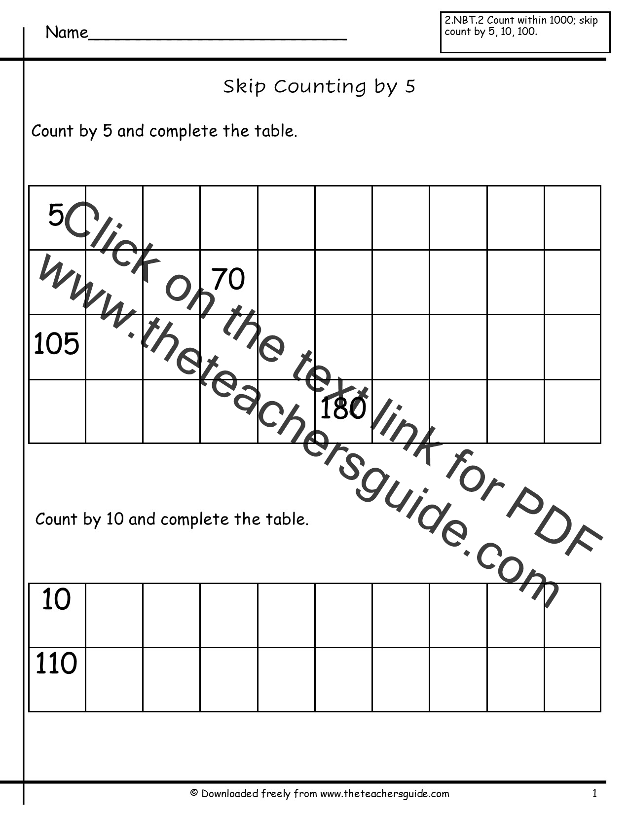 Worksheet Counting By 10 Worksheets Grass Fedjp