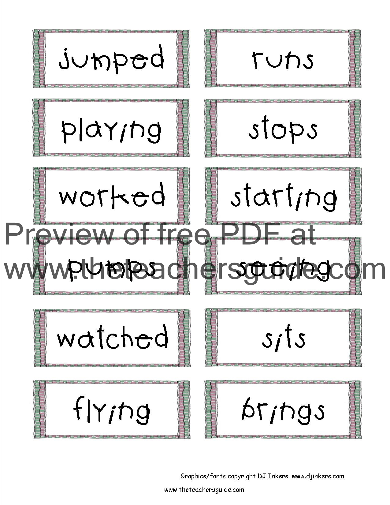 Wonders Second Grade Unit One Week Two Printouts