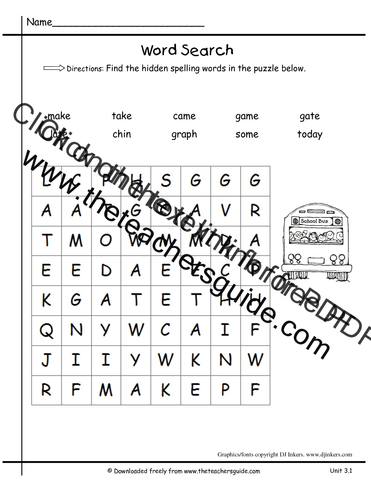 Printable Reading Worksheets For 1st Graders