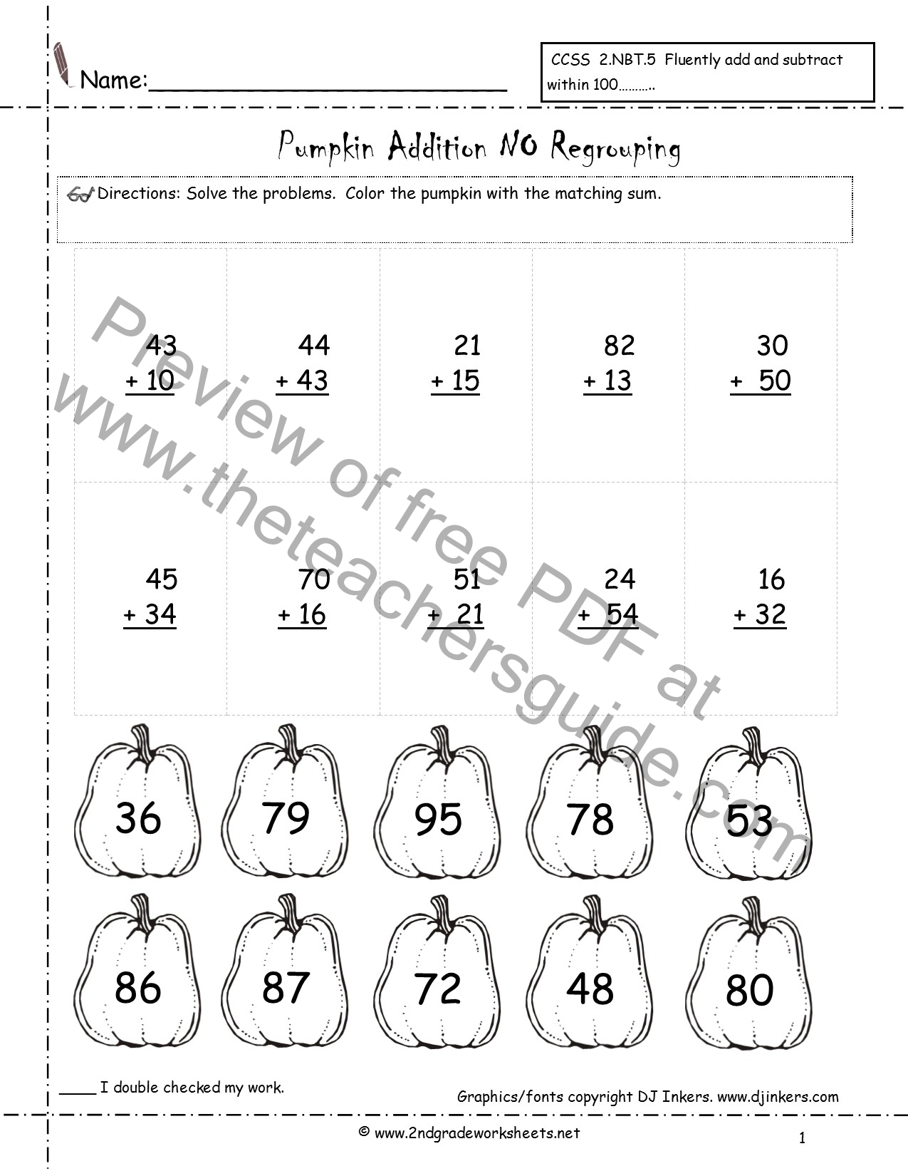 Vertical Multiplication Worksheets