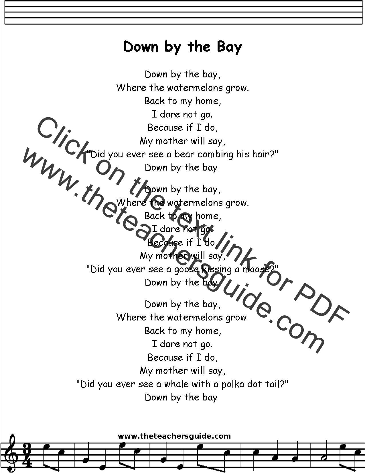 We Re Going On A Bear Hunt Children S Song Lyrics Nursery Rhymes Best Kids Songs