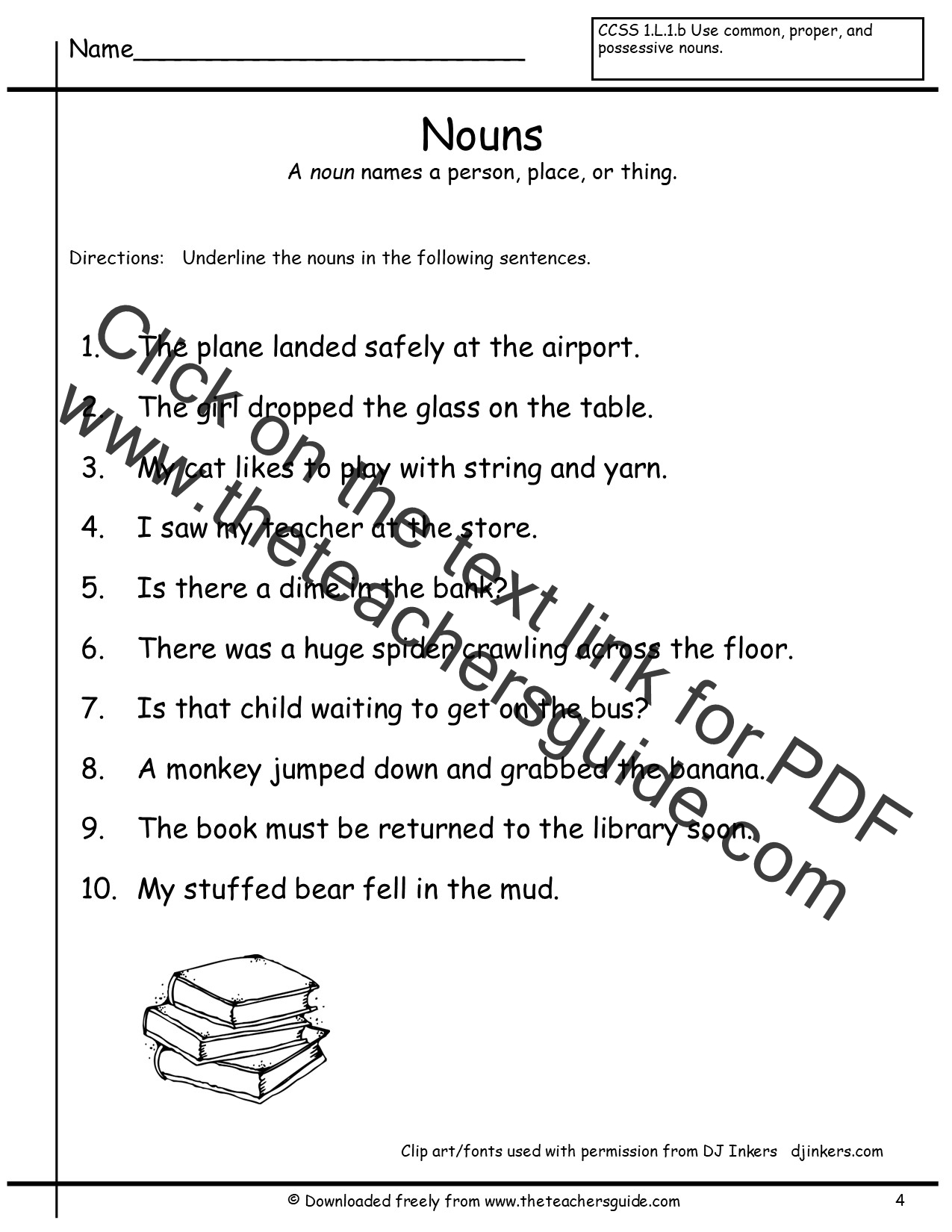 2nd Grade Worksheets Common Core Standards And Core