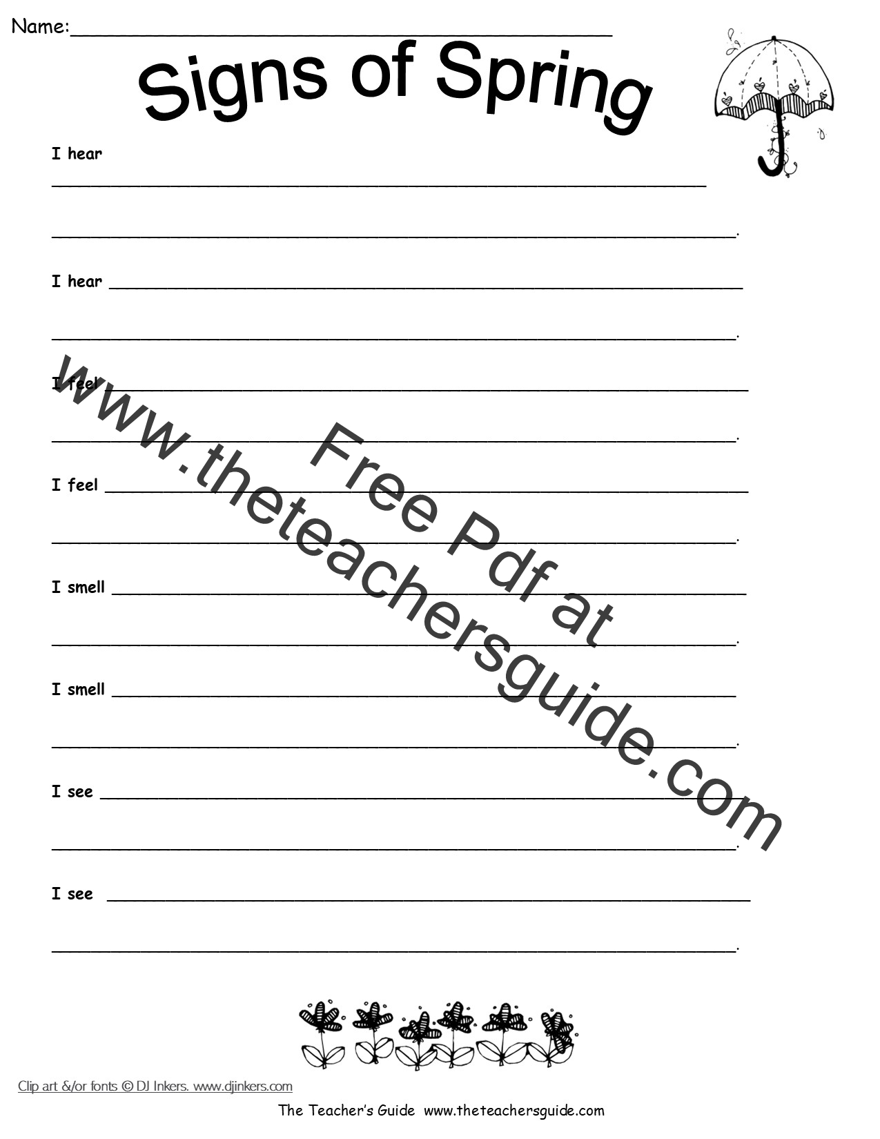 Science Worksheets And Printouts From The Teacher S Guide