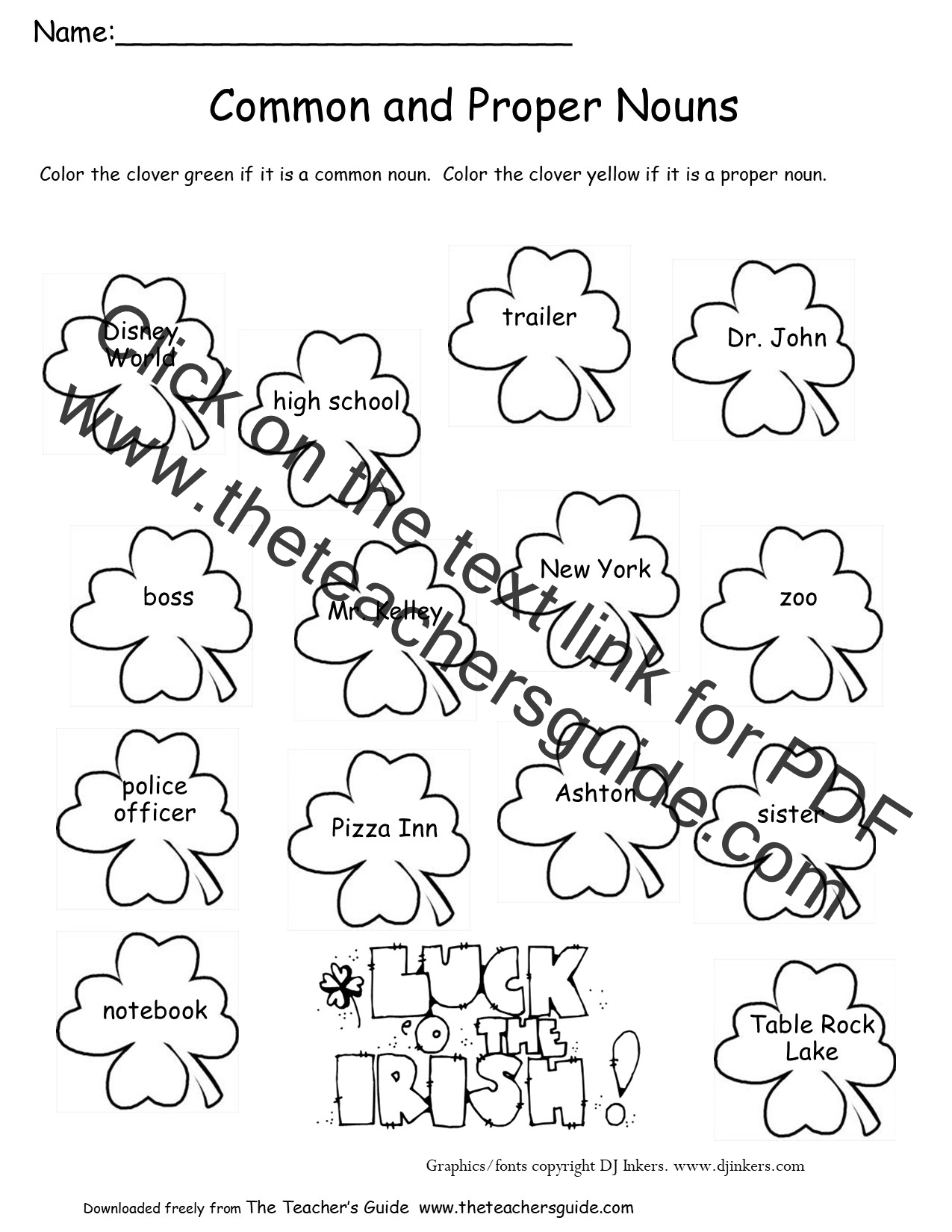 New 560 Counting Nouns Worksheet