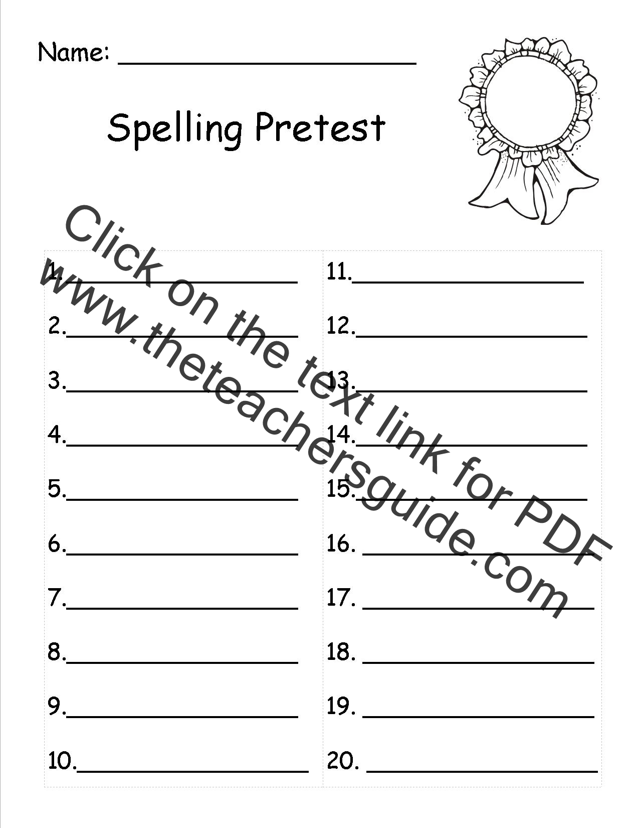 Worksheets 5th Grade Spelling Worksheets Atidentity