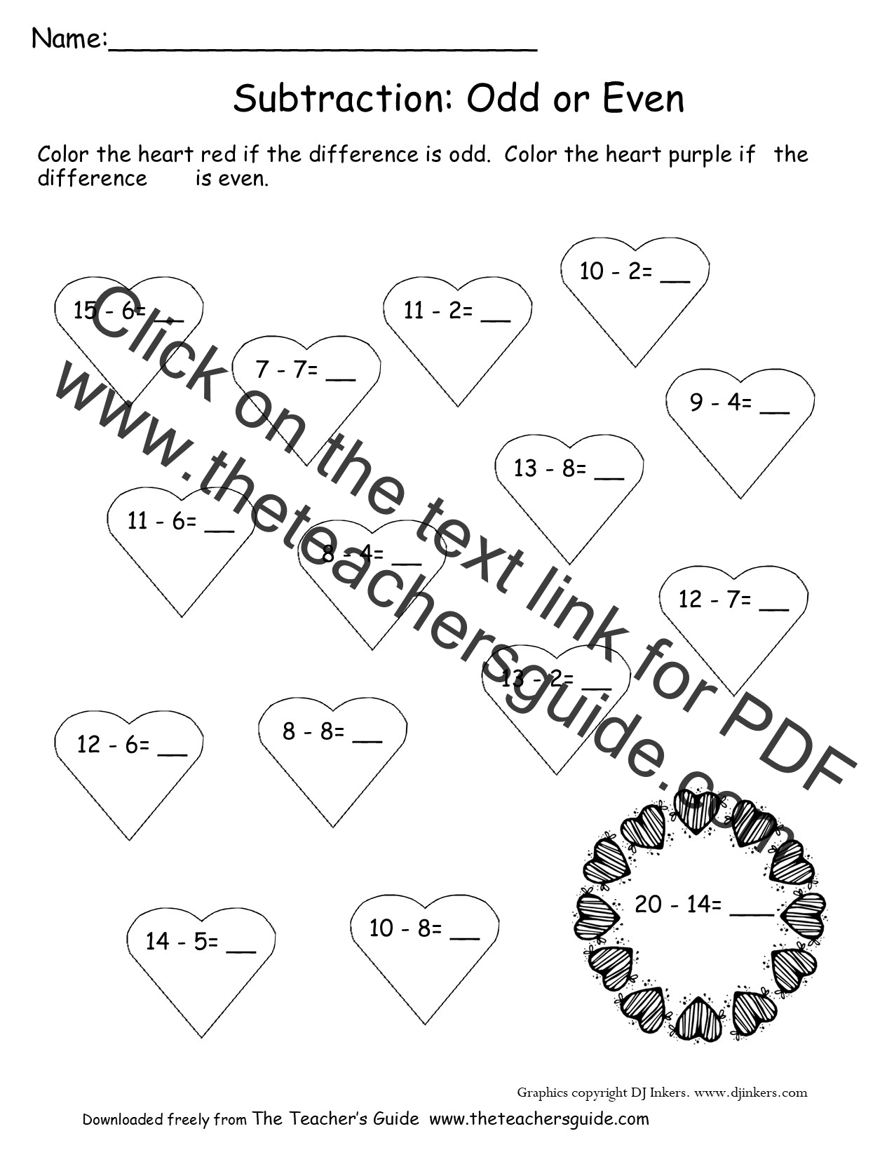 Pin Valentines Day Fraction Activities