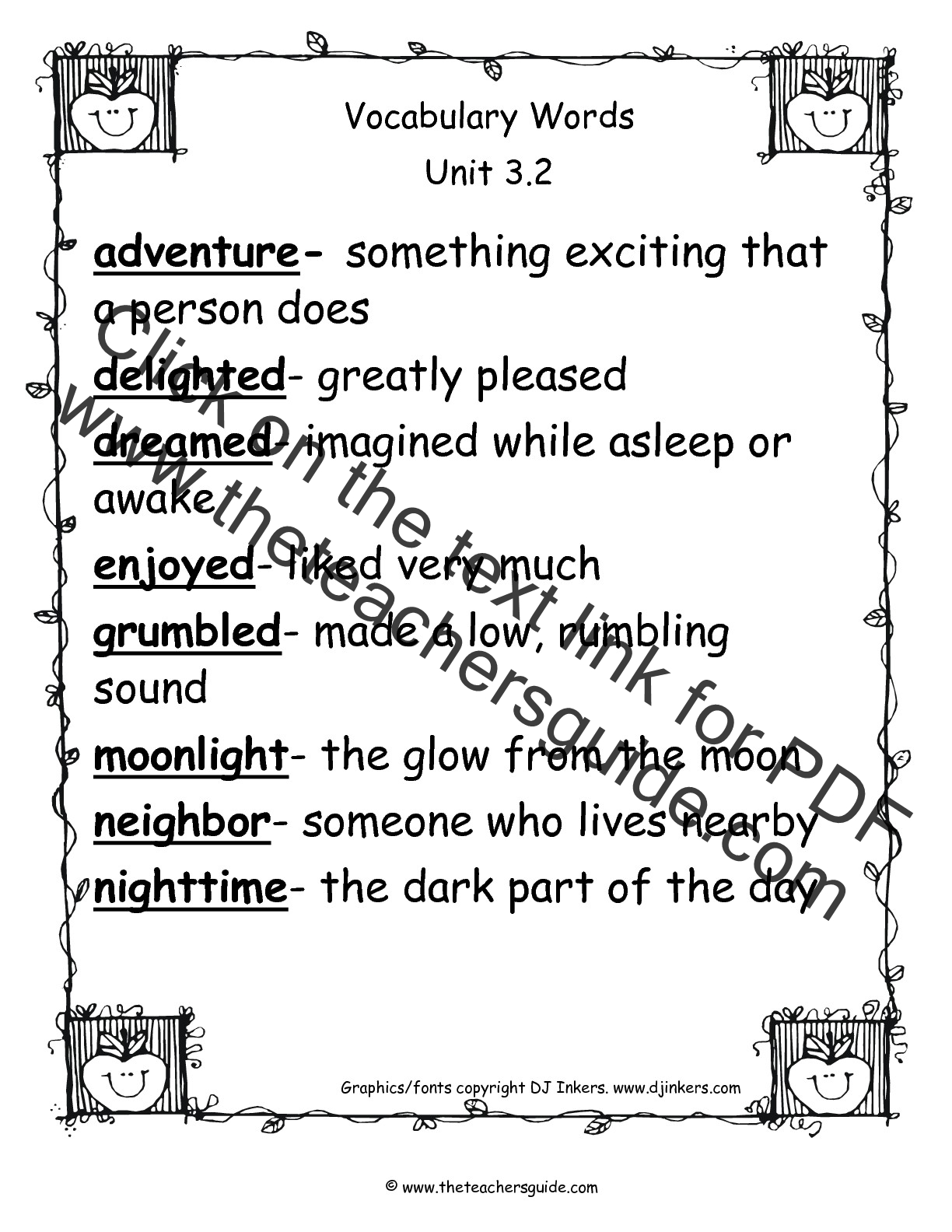 Verbs 1st Grade Worksheet