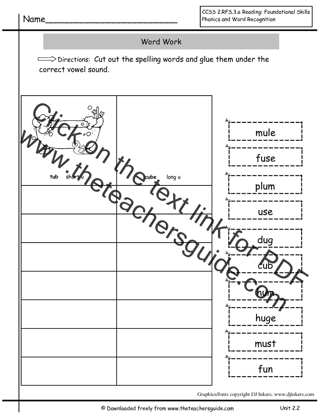 Worksheet Cvce Worksheets Worksheet Fun Worksheet Study Site