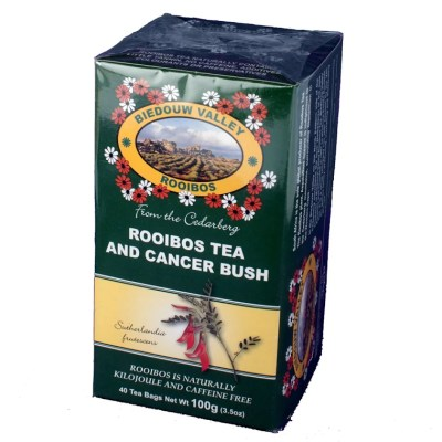 Biedouw Cancer bush and Rooibos