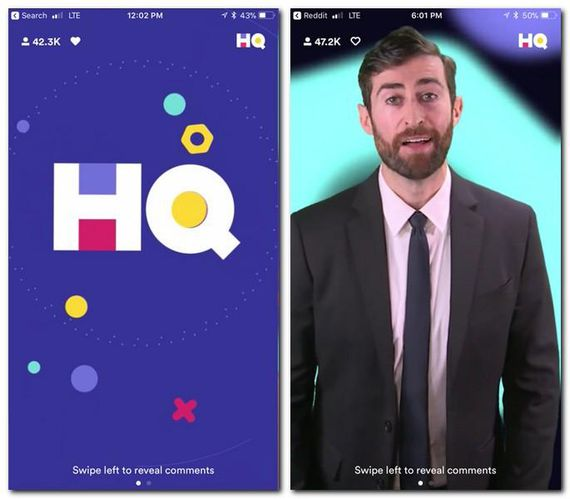 HQ Trivia currently has one main host, comedian Scott Rogowsky, but Intermedia Labs is also rotating in guest hosts.