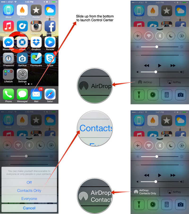 How to enable iOS AirDrop on iPad and iPhone - The Tech Bulletin