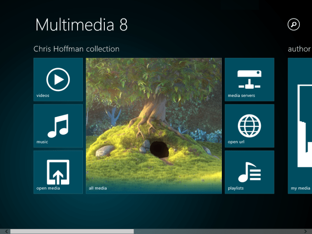 multimedia 8 app for windows 8