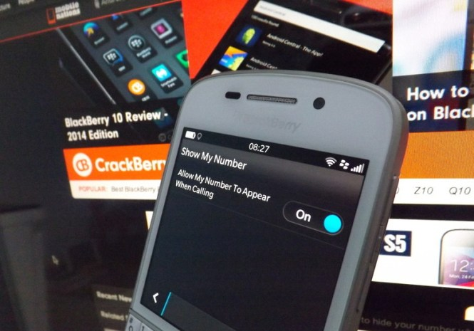 Blackberry 10 OS tips