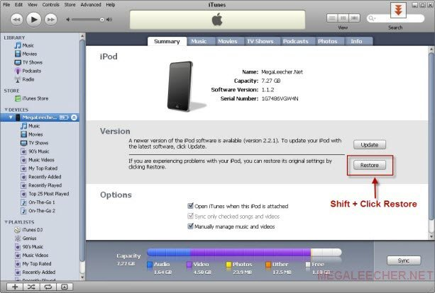 restore-iPod-Touch