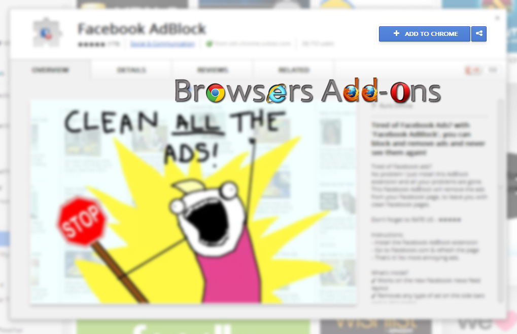adblock disappeared from chrome