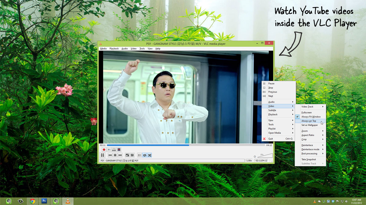 how to download video from youtube with vlc player