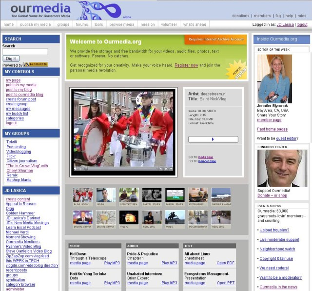ourmedia-screenshot