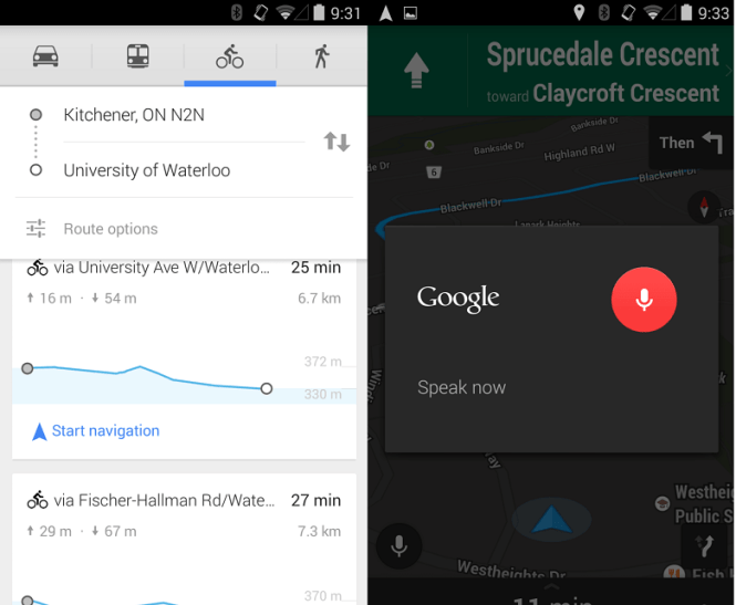 Google Maps updated and brings In-navigation voice control and more