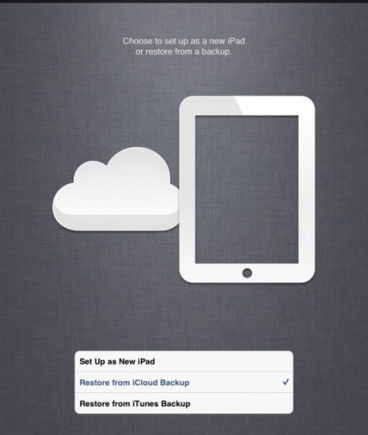 How to Restore Iphone and Ipad from an Icloud Backup
