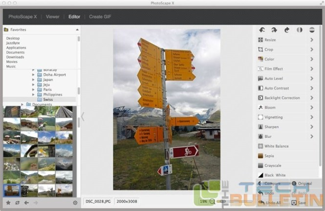 PHOTOSCAPE X for Mac