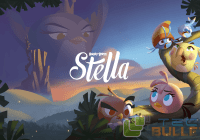 Angry Birds Stella poster