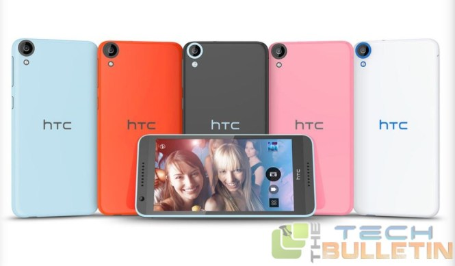 HTC 820 Desire front