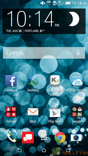 How to hide apps on HTC One M8