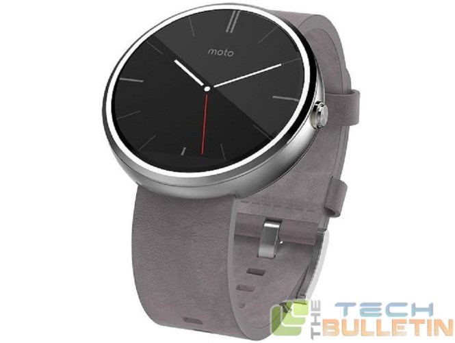 moto 360 stone leather