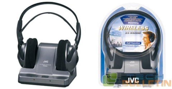 JVC HAW600 RF Wireless Headphone -8