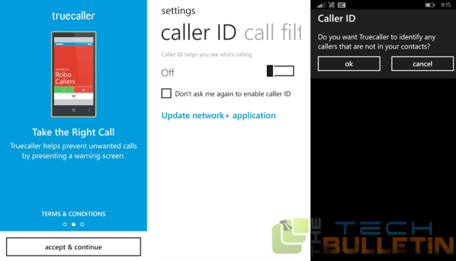 truecaller for Windows Phone-Lumia