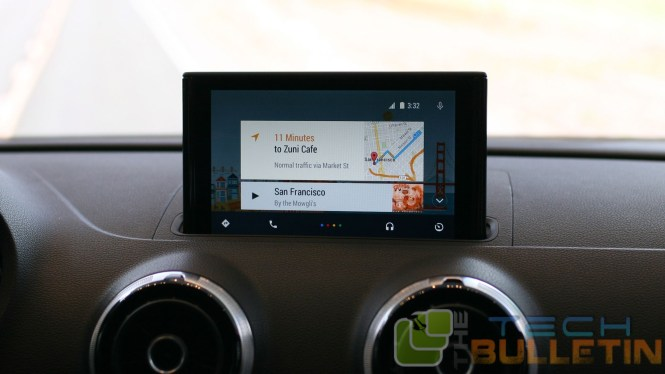 Android-auto-dashboard