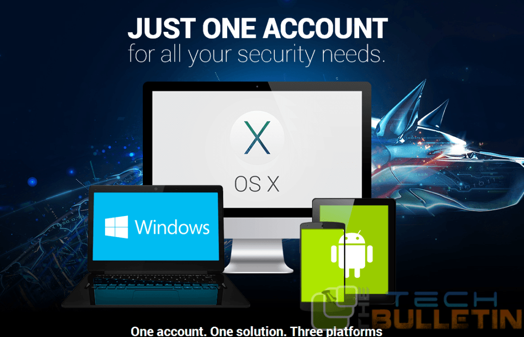 Bitdefender total security 2015 one account access
