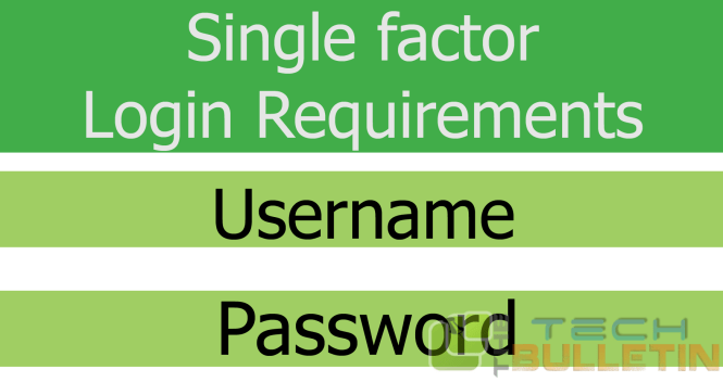 Single-Factor-Authentication