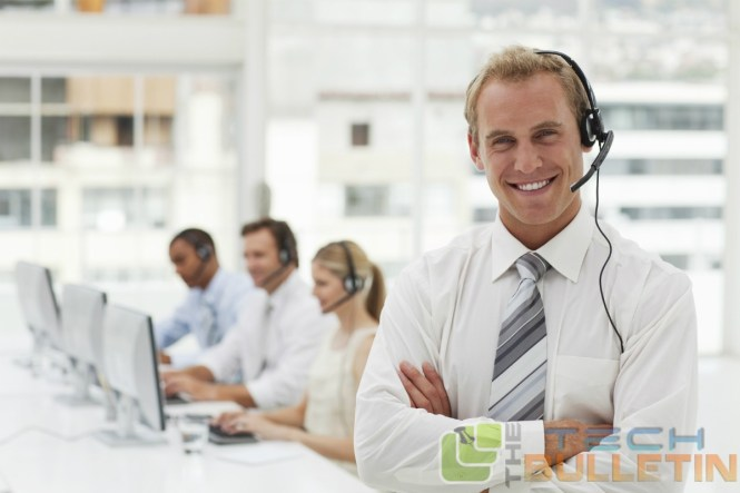 Call-center-white-headset