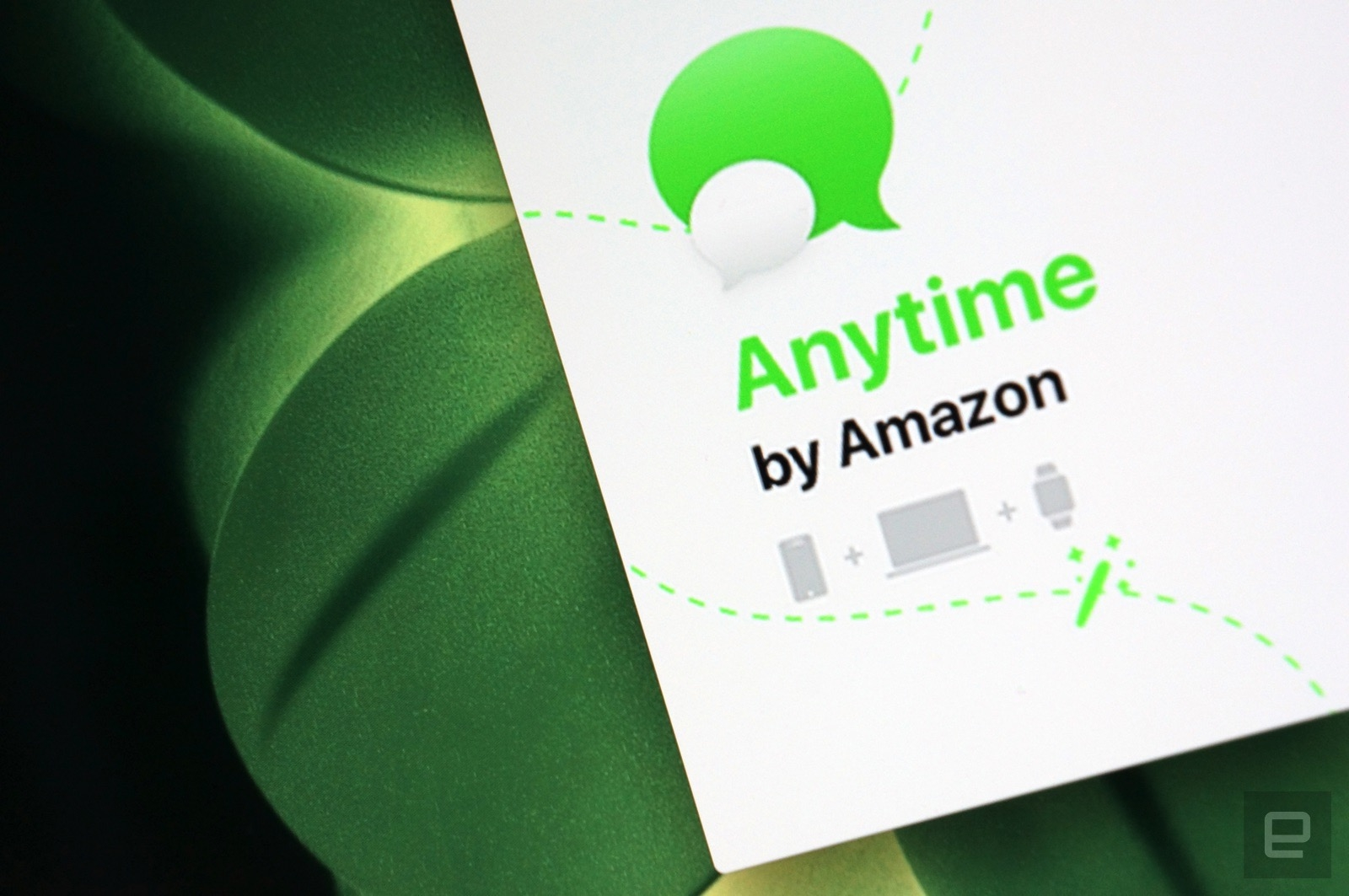 Amazon is working on a new messaging app called Anytime