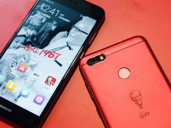 KFC joins forces with Huawei to launch its own smartphone!
