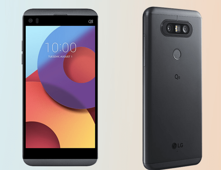 LG launches Q8 smartphone, a mini V20, in Italy