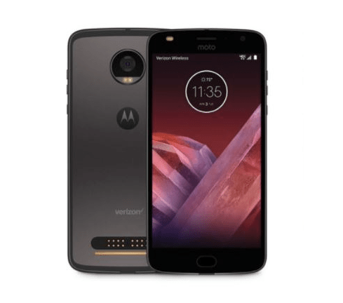 Moto Z2 with dual-camera setup surfaces on Motorola website