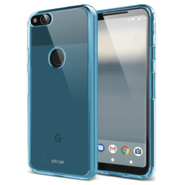 Olixar Case revealed the design of the smartphone is Pixel 2