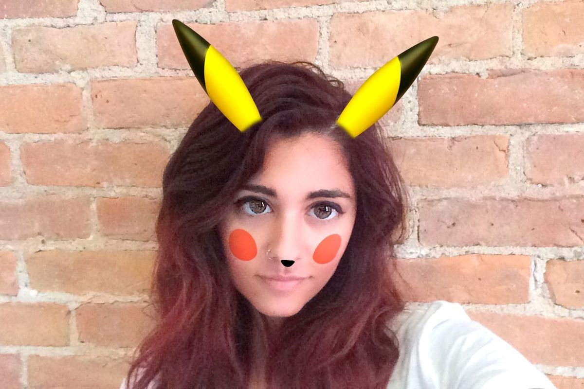 Pokémon lens hits Snapchat to bring Pikachu to your selfies