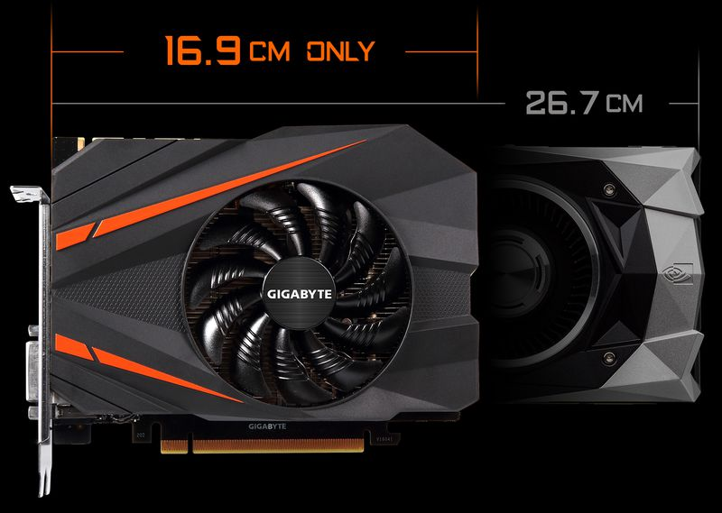 Gigabyte offers GTX 1080 in mini ITX format