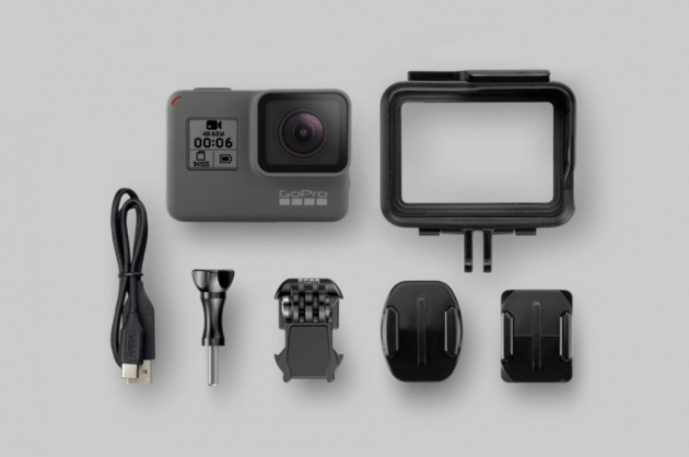 GoPro Hero 6 Black for $499.99 can capture 4K video at 60fps
